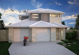 The Riverina is a  3 bedroom, 2 storey home.
