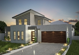 The Roseview SU (1) is a 4 bedroom, split level home.