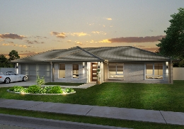 The Brereton design is a 4 bedroom home.