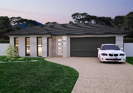 The Caxton is a stepped, 4 bedroom home.