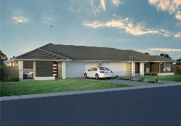 The Bribie Duplex is a 2 unit, 3 bedroom duplex.