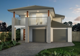 The Warringah is a 4 bedroom, two-storey home.