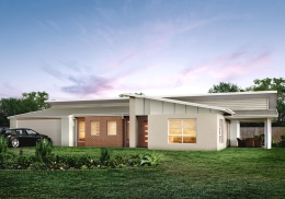 The Merewether is a 4 bedroom home.