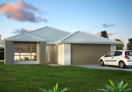 The Horizon is a 3 bedroom home.