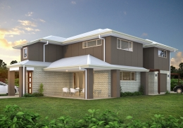The Iluka is two unit, 3 bedroom duplex.