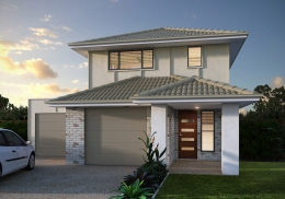 The Chinderah is a 3 bedroom, 2 storey home.<br />