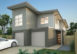 The Hayman is a 3 bedroom, dual level home.